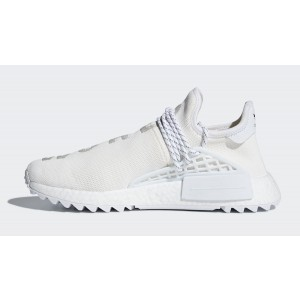 "Pharrel Williams x adidas NMD Hu ""Blank Canvas"" Blancas AC7031"
