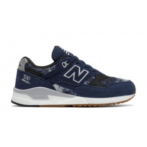 New Balance Mujer W530BNA 530 Pigment with Plata Mink and Negras