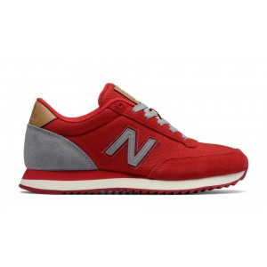 New Balance Mujer WZ501WXA 501 Ripple Sole Rojas with Grises