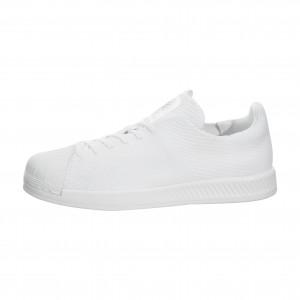 Adidas Hombre Originals Superstar Bounce Primeknit Blancas S82240