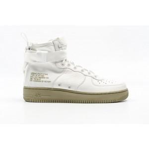 Nike SF Air Force 1 Mid Hombre Blancas 917753-101