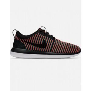 Nike Roshe Two Flyknit Hombre Negras 844833-003