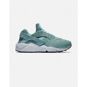 Nike Air Huarache Run Print Mujer verdes 725076-006