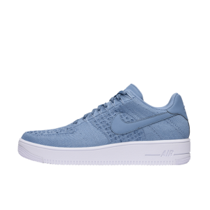 Nike Air Force 1 Flyknit Low Hombre Azules 817419-402