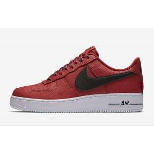 Nike Air Force 1 Low 07 NBA Hombre Zapatilla Rojas 823511-604