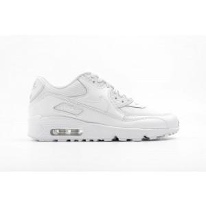 Nike AIR MAX 90 Mesh GS Mujer Blancas 833418-100