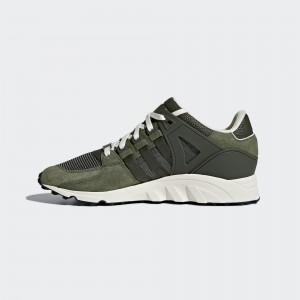 Hombre adidas Originals EQT Equipment Support RF Verdes/Blancas/Negras CQ2418