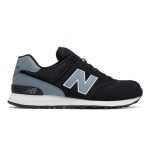 New Balance Hombre ML574CNA 574 Reflective Negras with Grises