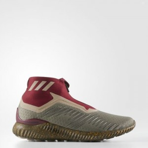 Adidas Alphabounce 5.8 Zip Color Trace Olvie / Trace Cargo / Collegiate Burgundy Zapatillas BY4237