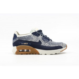 Nike AIR MAX 90 ULTRA 2.0 FLYKNIT Hombre Grises 881109-400