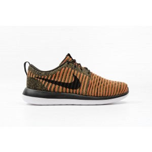 Nike Roshe Two Flyknit Hombre Orange 844833-009