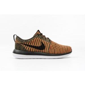 Nike Roshe Two Flyknit Hombre Orange 844833-009