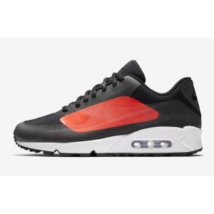 Nike Air Max 90 Big Logo Negras Naranjas AJ7182-003