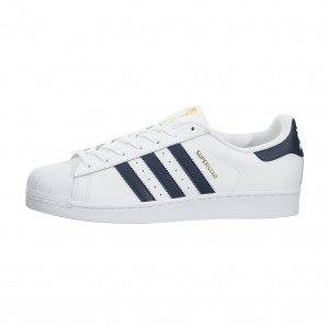 adidas Superstar Foundation Low Hombre Estilo de vida Zapatilla Blancas BY3712