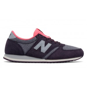 New Balance Mujer WL420LPA 420 Winter Heather Plum with Guava