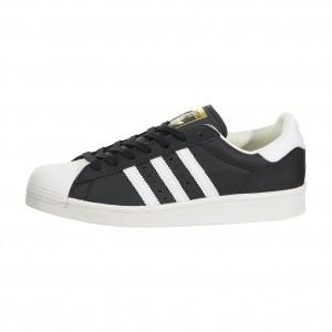 adidas Superstar Boost Hombre Negras Blancas Doradas Shell Toe Bb0189