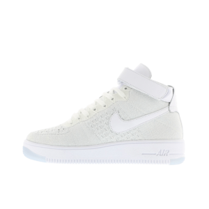 Nike Air Force 1 Flyknit Hombre Blancas 818018-100
