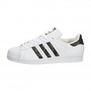 Hombre Adidas Superstar Foundation Blancas Negras BB2775
