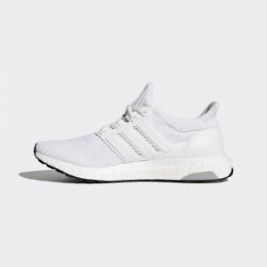 Hombre adidas Ultra Boost 4.0 Corriendo Zapatilla Blancas BB6168
