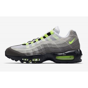 Nike Air Max 95 OG Hombre Negras Amarillas Grises Athletic 554970-071