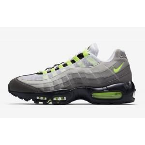 Nike Air Max 95 OG Hombre Negras Amarillas Grises Athletic 554970-071