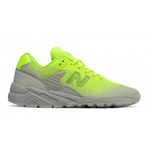 New Balance Hombre MRT580JE 580 Re-Engineered Jacquard Lime with Grises