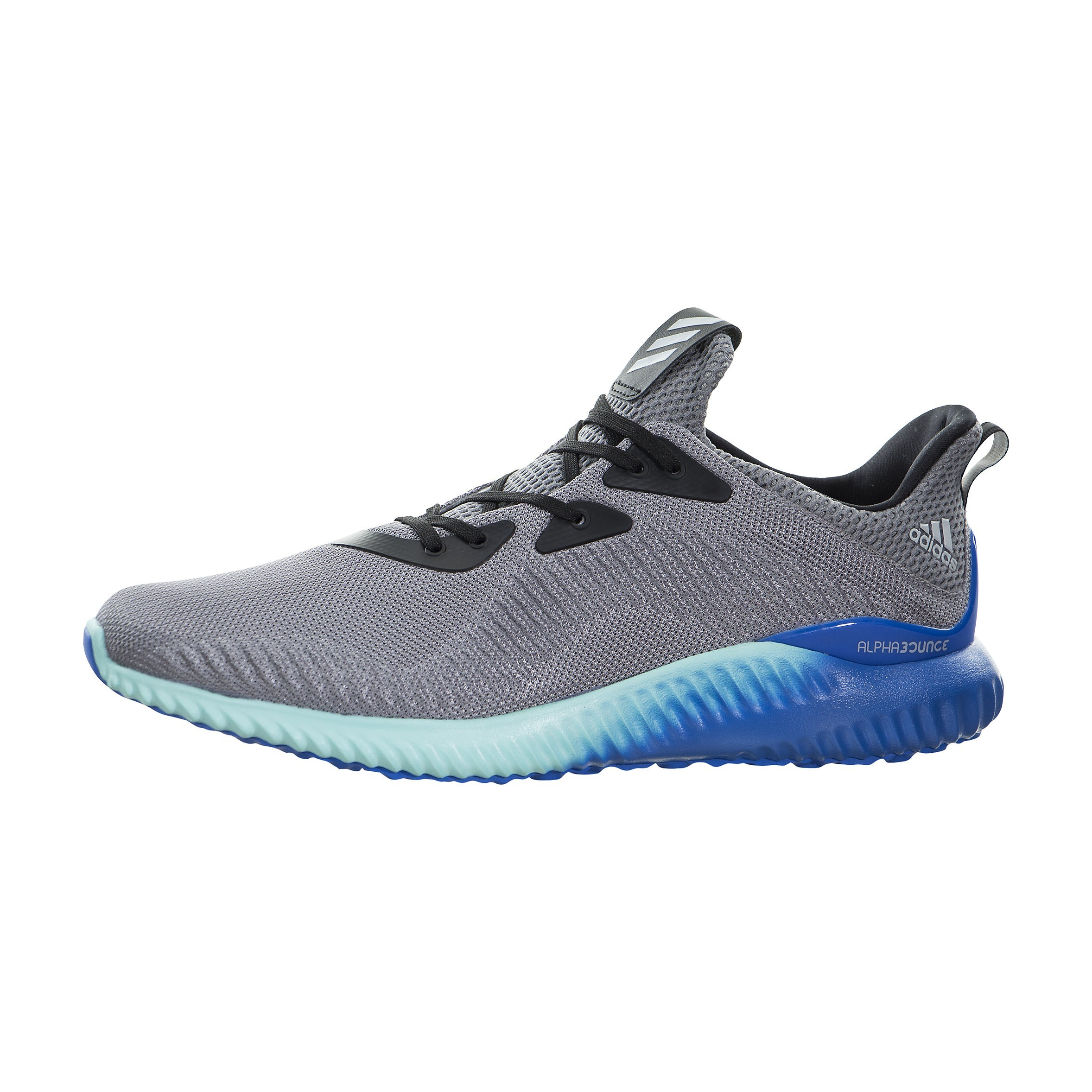 Adidas Alphabounce Grises/Energy/Aqua Corriendo Zapatilla Hombre BB9035