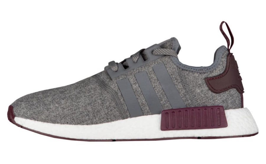 Adidas NMD_R1 Runner Nomad Boost Burgundy Grises Rojas CQ0761