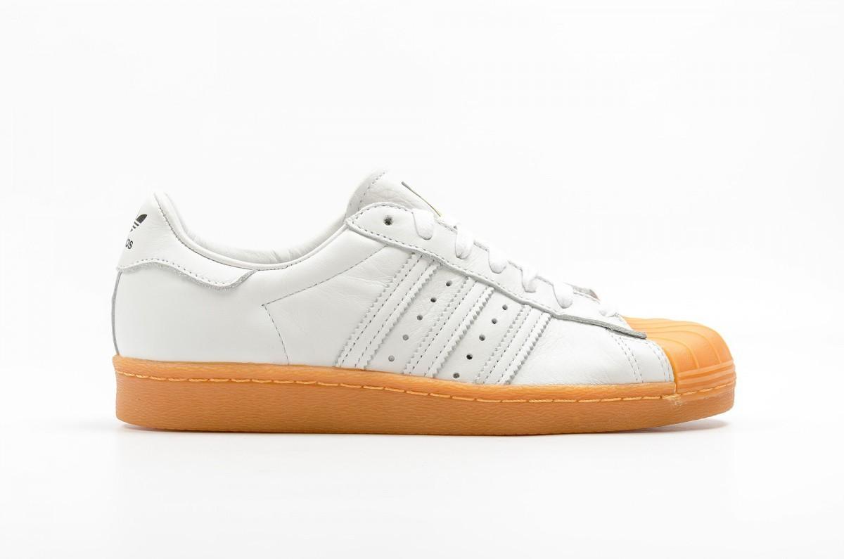 Adidas Superstar 80s DLX Blancas S75830