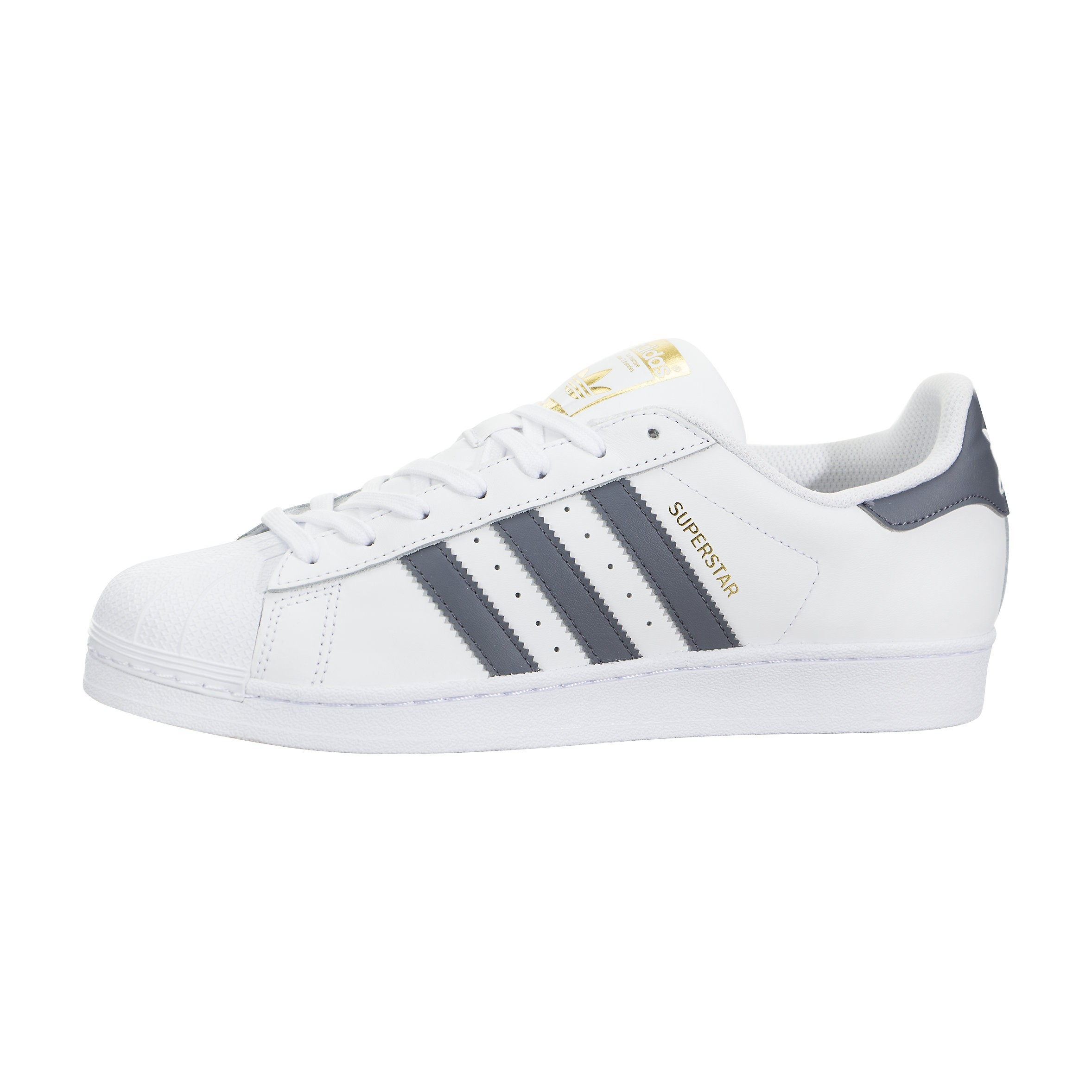 Hombre Adidas Originals Superstar Foundation Blancas/Grises BY3714