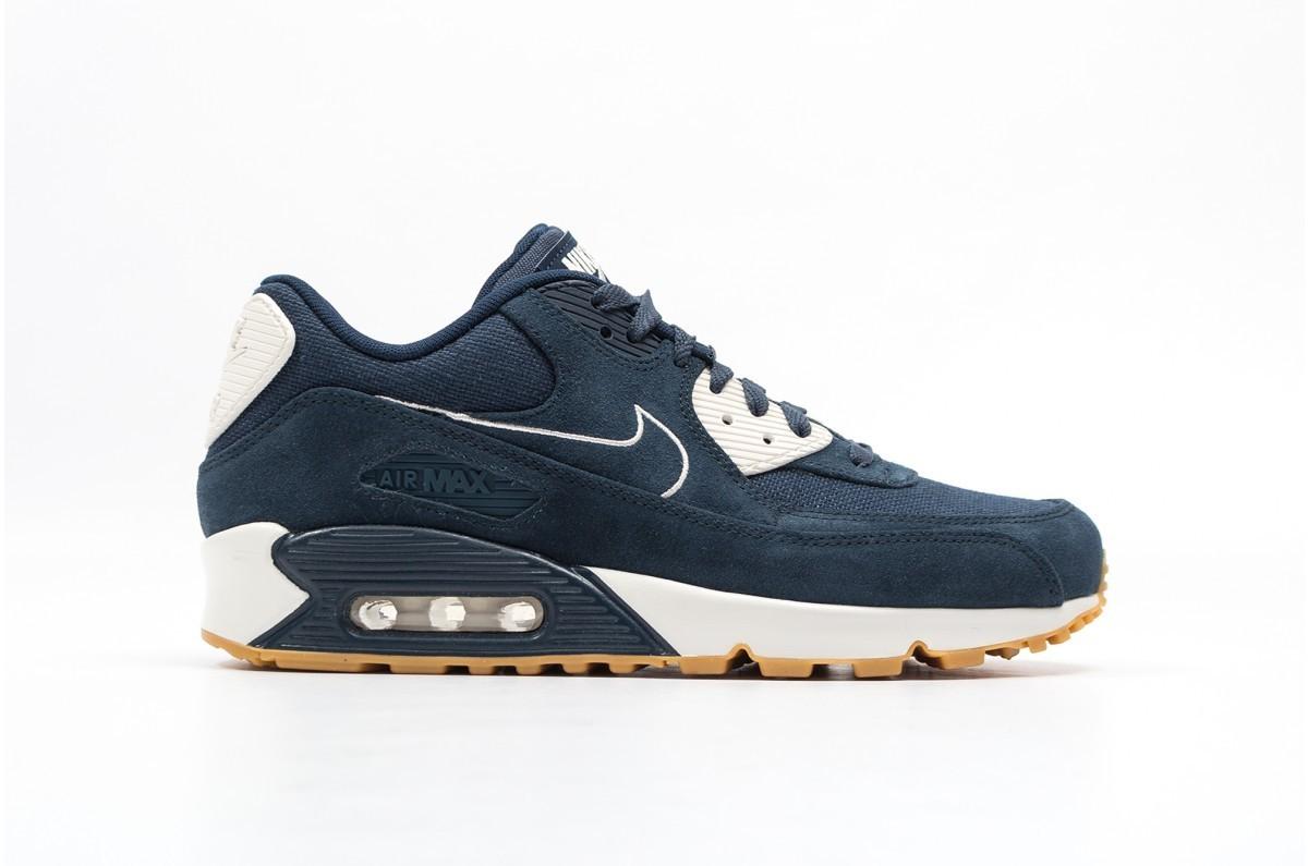 Nike AIR MAX 90 PREMIUM Hombre Azules 700155-403
