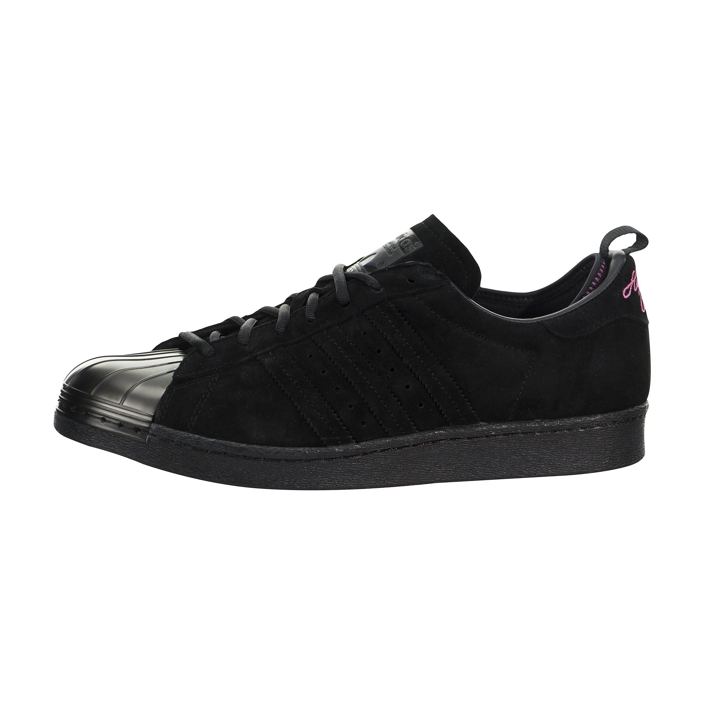 Hombre adidas X Eddie Huang Superstar 80s Metal Toe Negras f37748