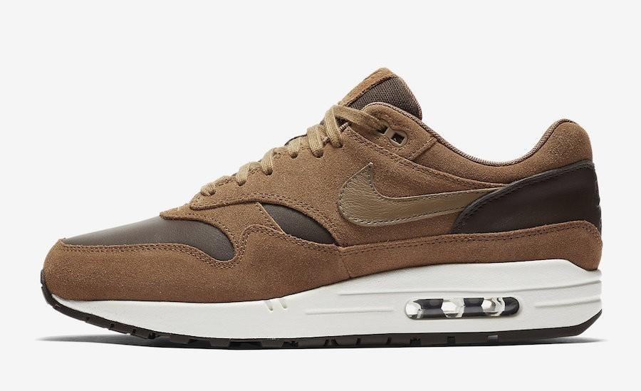 "Nike Air Max 1 Premium Leather ""Marrónes"" AH9902-200"