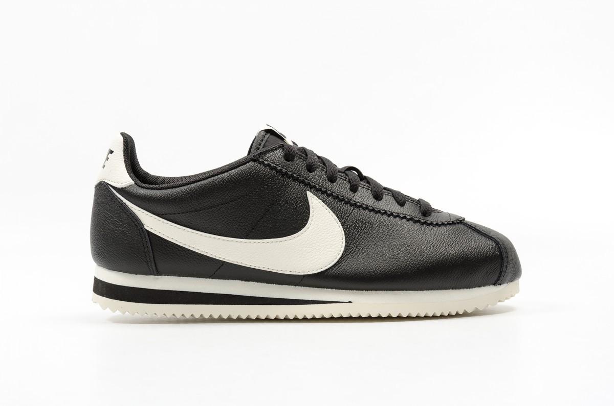 Nike Classic Cortez Leather SE Hombre Negras 861535-006