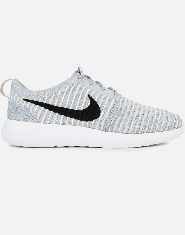 Nike Roshe Two Flyknit Hombre Grises 844833-002