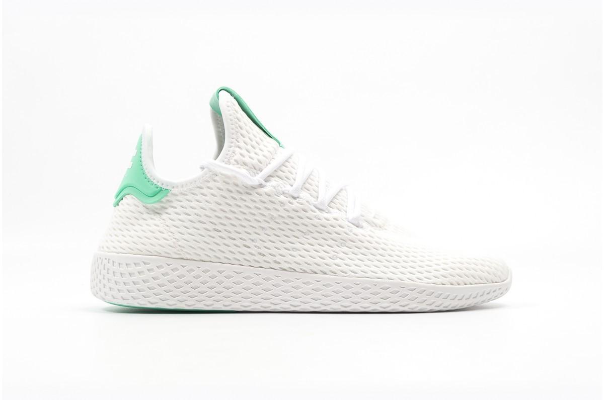Adidas x Pharrell Tennis Hu Hombre verdes BY8717