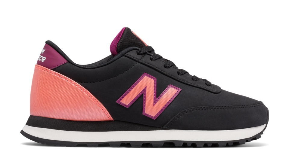New Balance Mujer WL501OPB 501 Negras with Guava