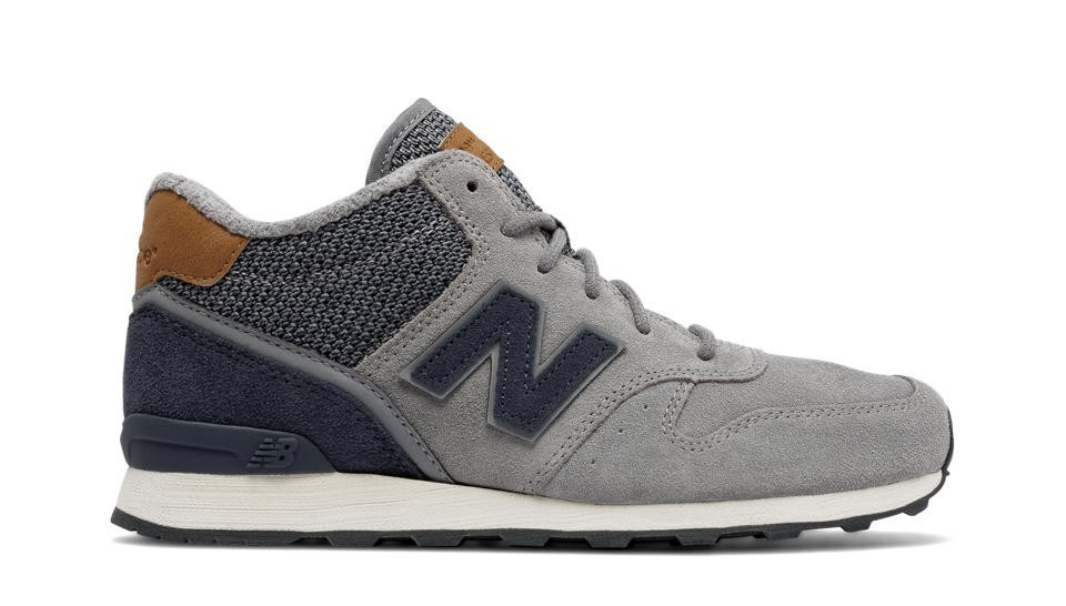 New Balance Mujer WH696LCC 696 Mid-Cut Steel with Thunder