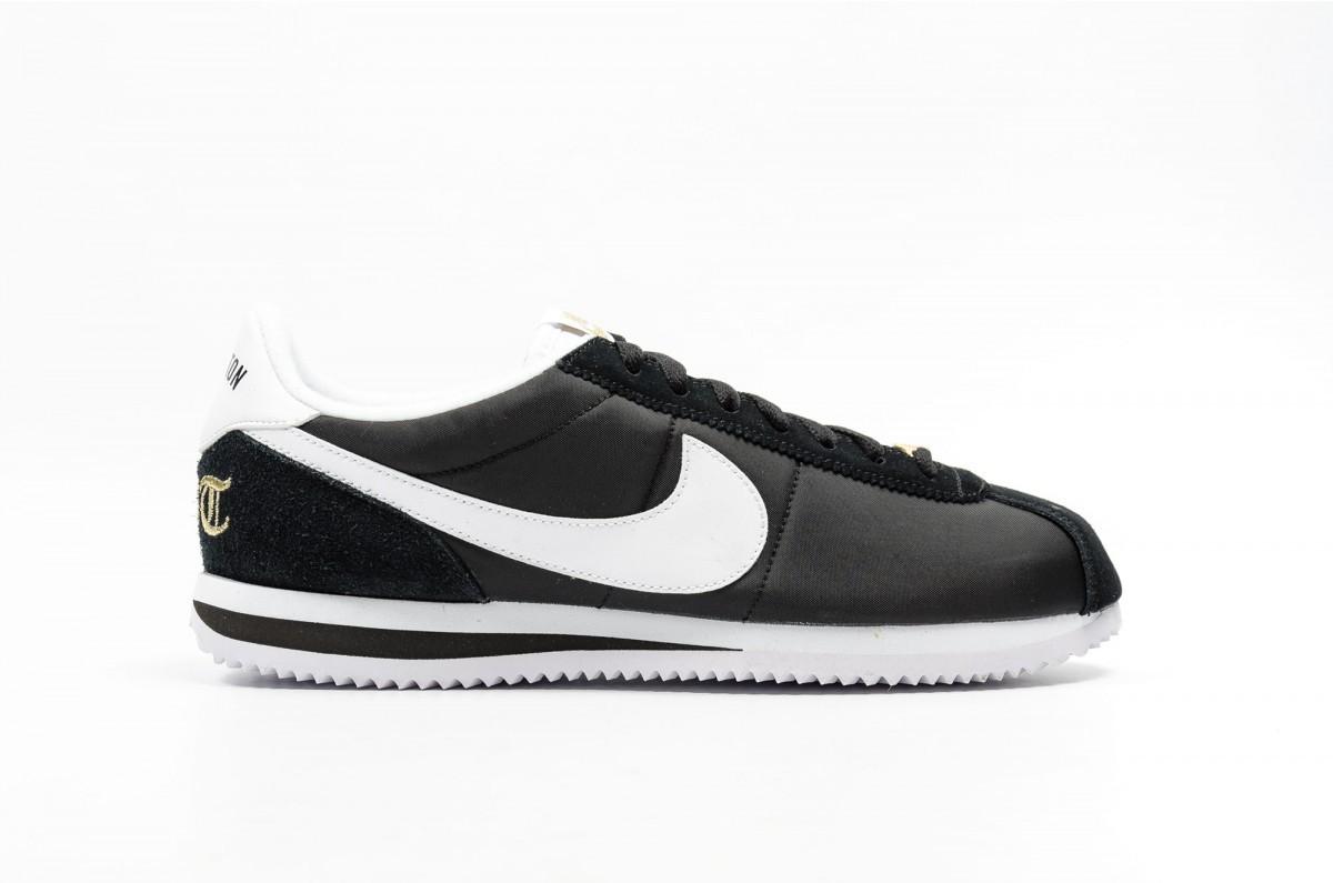 Nike Classic Cortez Nylon Premium XLV Hombre Negras 902804-001