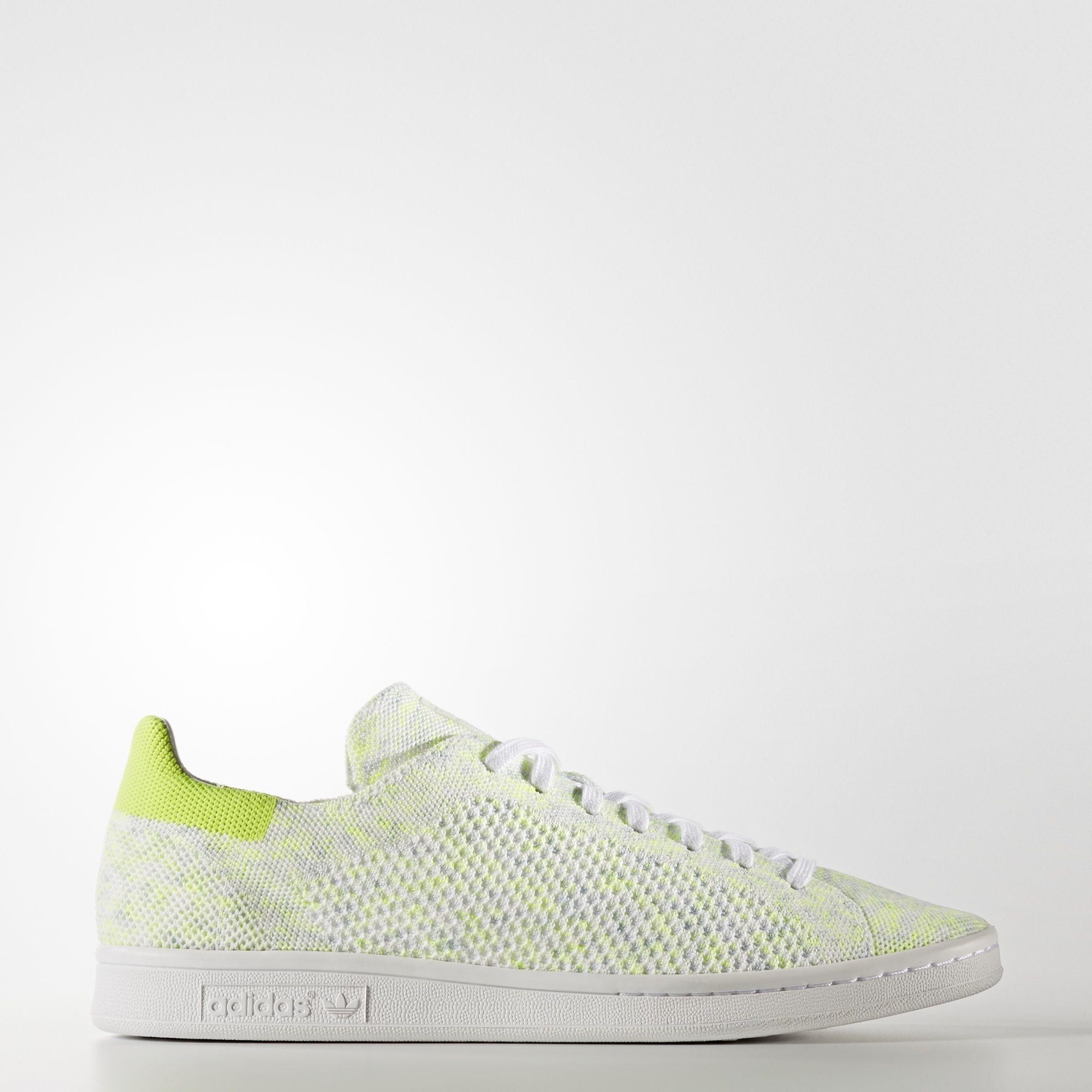Adidas Stan Smith Primeknit Zapatillas Blancas/Amarillas BA7439