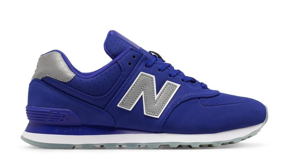 New Balance Hombre ML574SYA 574 Synthetic UV Azules