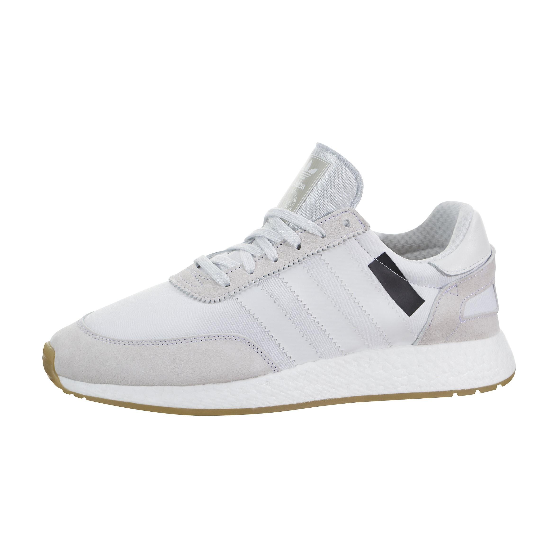 Hombre Adidas Iniki Runner 'I-5923' B42224 Blancas/Blancas