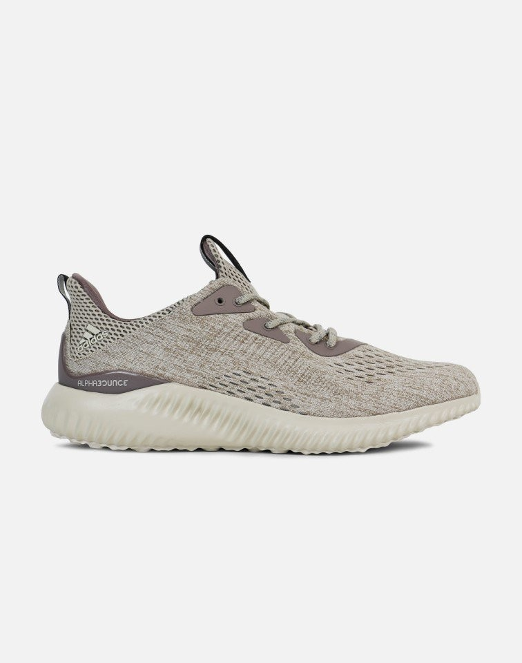Adidas Alphabounce Engineered Mesh Hombre Marrón BB9041