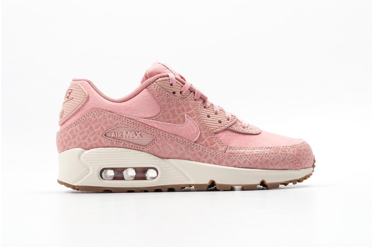 Nike Mujer AIR MAX 90 PREMIUM Rosas 896497-600