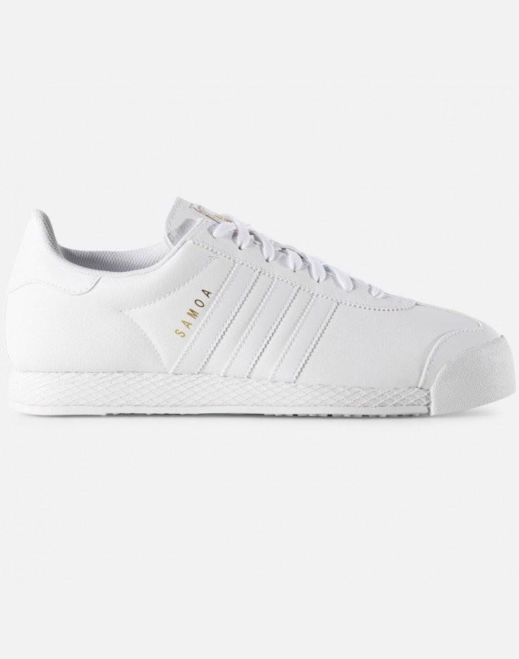 Hombre Originals Adidas Samoa zapatillas Hombre Blancas F37599