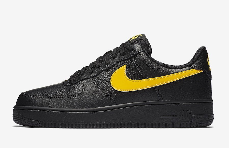 Nike Air Force 1 07 LV8 Low Negras Amarillas AA4083-002