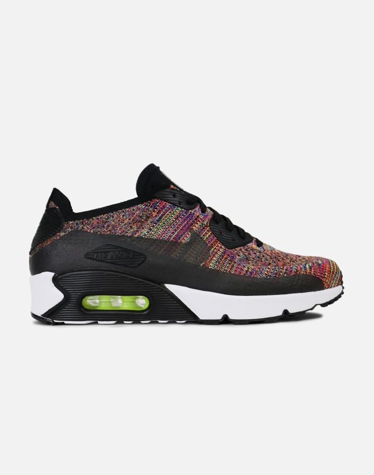 Nike AIR MAX 90 ULTRA 2.0 FLYKNIT Hombre Negras 875943-002