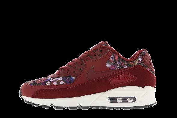 Nike Mujer AIR MAX 90 SE Rojas 881105-600